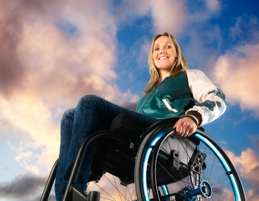 Gwen van Rosmalen has more freedom in her wheelchair thanks to Magnesium Wheels-wheelchair wheels